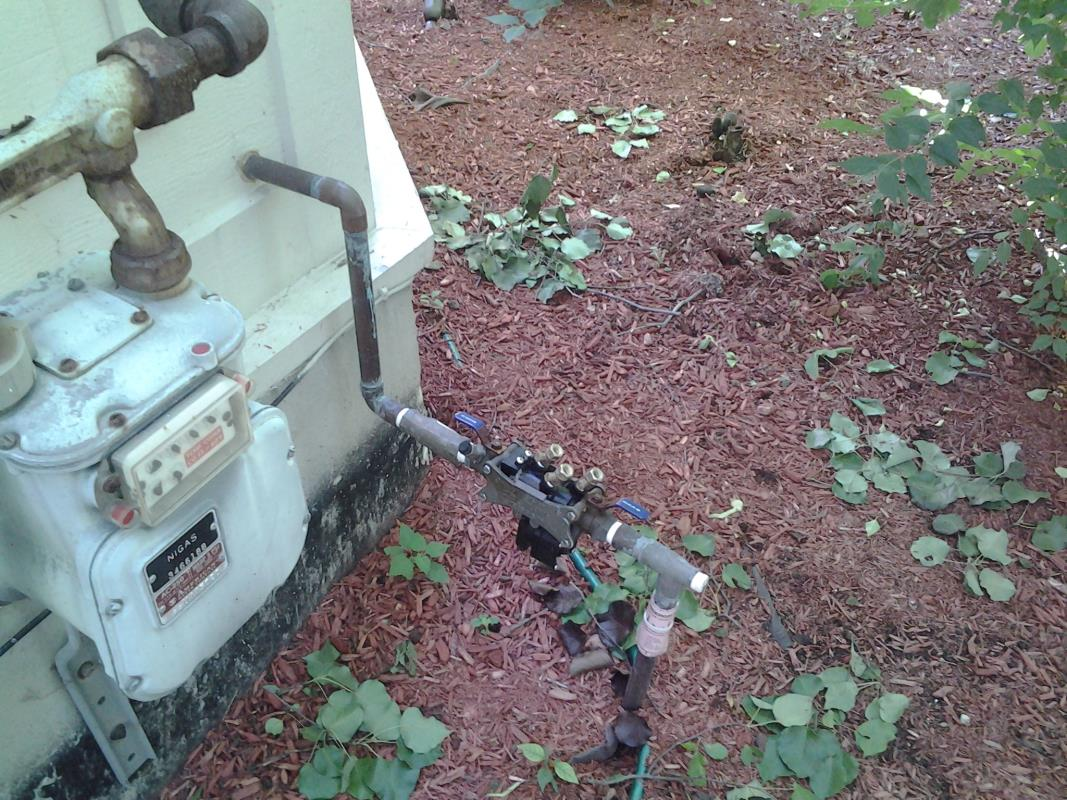 Backflow Device image from Tomball